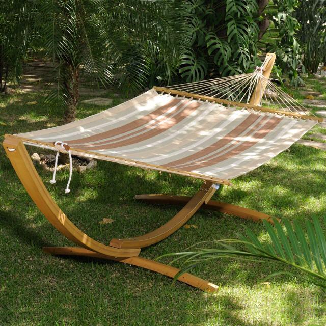 Hängematte Designs Bringen Zur Entspannung Und Wohlfühlatmosphäre ... Outdoor Bereich Mit Hangematte Ideen Bilder