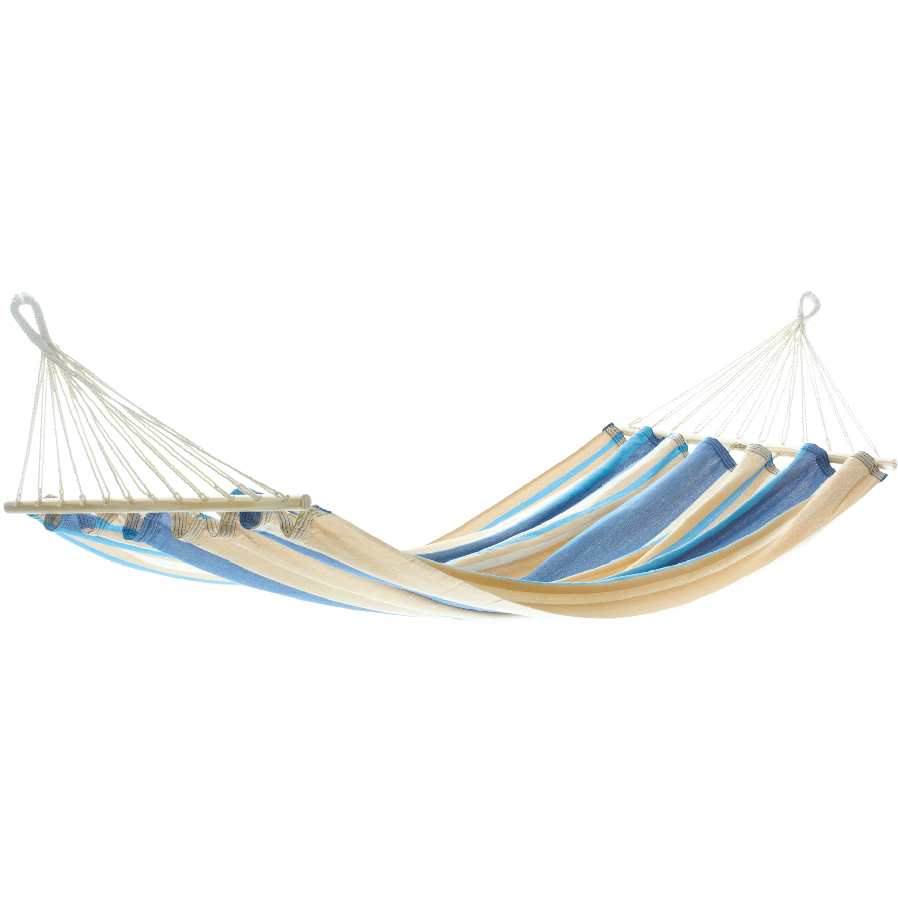h ngematte miss brasil blau hellblau braun beige von jobek. Black Bedroom Furniture Sets. Home Design Ideas