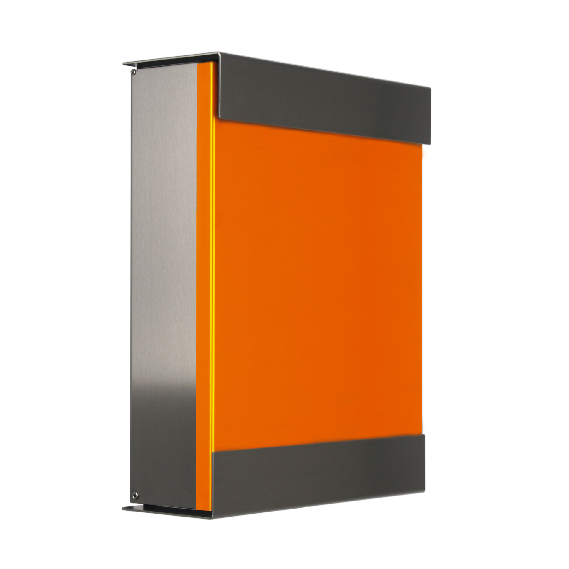 Keilbach Briefkasten keilbach briefkasten glasnost color orange