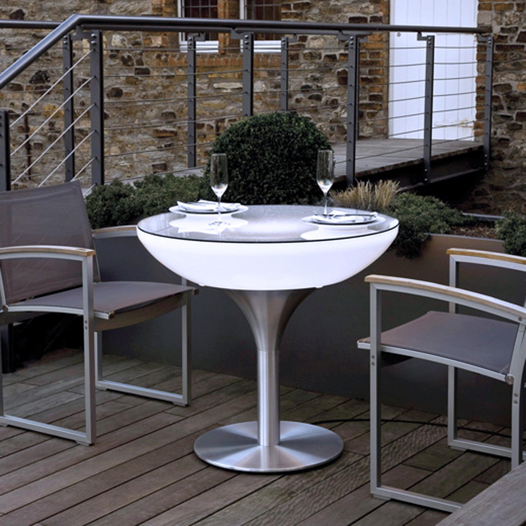 lounge leucht tisch 45 55 75 105 outdoor. Black Bedroom Furniture Sets. Home Design Ideas