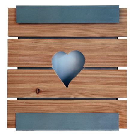 Briefkasten Keilbach Glasnost Wood Heart