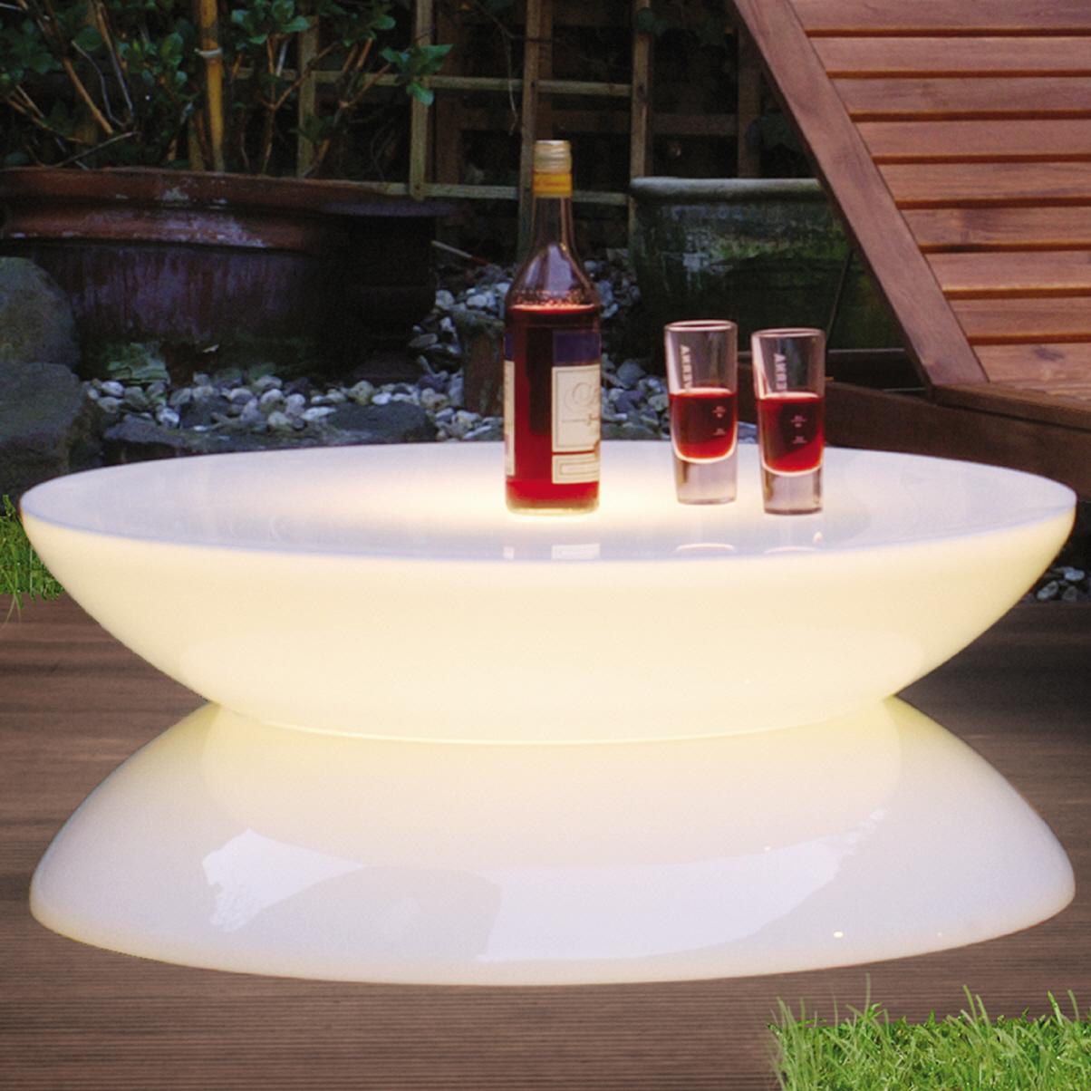 Lounge Leucht Tisch Outdoor Led