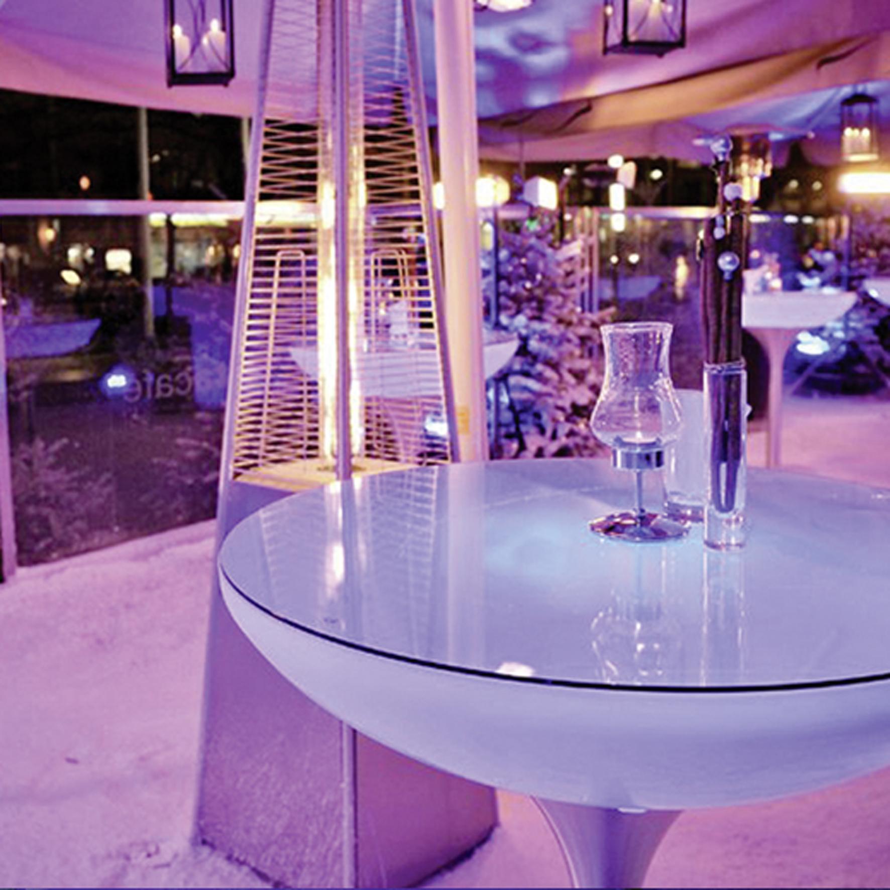 lounge leucht tisch 45 55 75 105 accu led outdoor. Black Bedroom Furniture Sets. Home Design Ideas