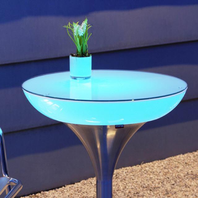 lounge leucht tisch m 45 55 75 105 led pro outdoor. Black Bedroom Furniture Sets. Home Design Ideas